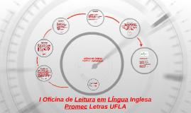 Copy of Oficina de Leitura Lingua Inglesa I