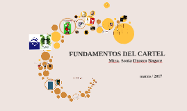 Copy of FUNDAMENTOS DEL CARTEL