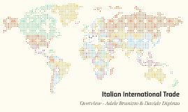 Italian International Trade