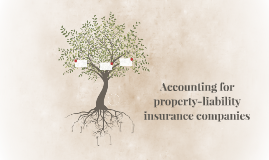 Accounting for property-liability insurance companies