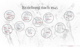 Erziehung nach 1945