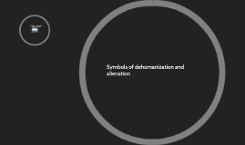 dehumanization and alienation The theme of alienation in franz kafka's metamorphosis metamorphosis is a change in physical form or structure in the metamorphosis, there is a literal change in the protagonist, gregor samsa's, physical form from a man.