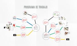 Programa de trabajo 2016-1
