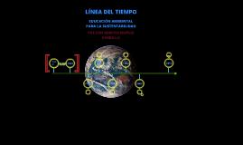 Copy of Linea del tiempo de la Educaciòn Ambiental para la Sustentabilidad