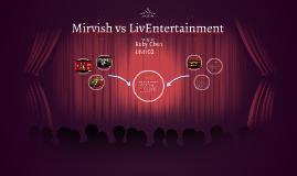 Mirvish vs LivEntertainment