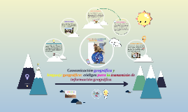 Copy of Comunicación y lenguaje geográfico: códigos para la transmisión de información geográfica
