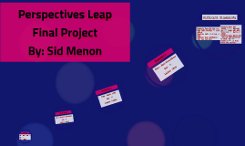 Perspectives Leap Project