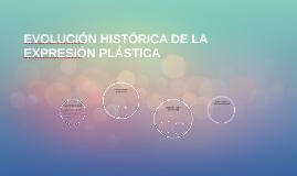 EVOLUCIÓN HISTÓRICA DE LA EXPRESIÓN PLÁSTICA