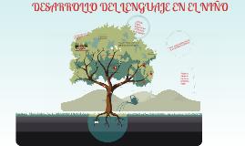 Copy of Copy of El Desarrollo del Lenguaje en el Niño
