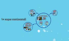 Le acque continentali