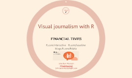Visual journalism with R