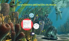 Seminario: Primera extinción en masa