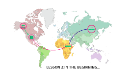LESSON 2:IN THE BEGINNING...