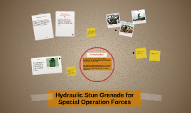 Hydraulic Grenade for Special Operation Forces