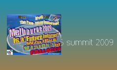 Melbourne IPv6 Summit 2009