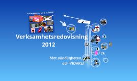 Copy of Verksamhetsredovisning 2012