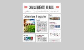 CRISIS AMBIENTAL MUNDIAL