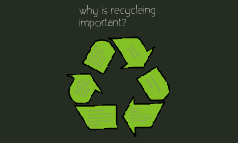why is it important to recycle!?