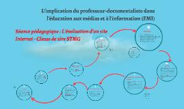 Copy of L'implication du professeur-documentaliste dans l'éducation