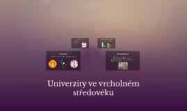 Copy of Univerzity ve vrcholném středověku