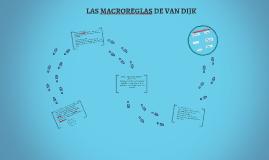 LAS MACROREGLAS DE VAN DIJK
