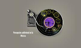 Lo subliminal en la música