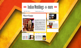 Indian Weddings -n- more