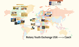 Copy of Rotary Youth Exchange USA ----> Czech
