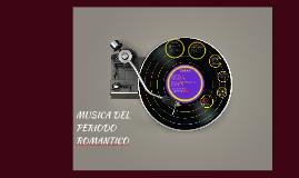 MUSICA DEL PERIODO ROMANTICO