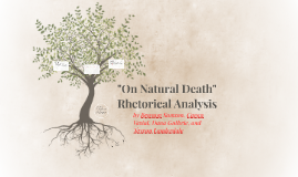 """On Natural Death"" Analysis"