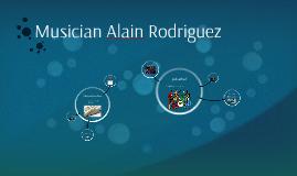 Musician Alain Rodriguez