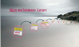 Copy of SQLite and Databases: Cursors