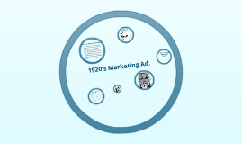 1920's marketing ad