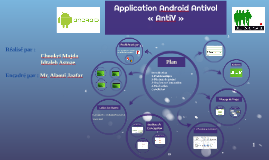 Application Android Antivol                       « AntiV »