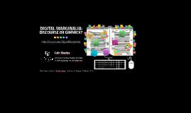 Digital Marginalia: Discourse or Gimmick?