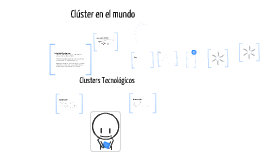 Copy of Clusters Tecnologicos
