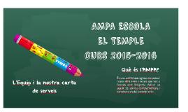 Presentació AMPA curs 2015-2016