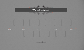 Wars of Lebanon