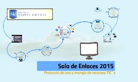Sala de Enlaces 2015