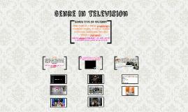 Genre in Television