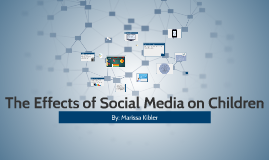 The Effects of Social Media on Children