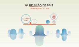 4º REUNIÃO DE PAIS
