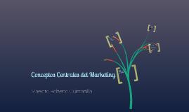Conceptos Centrales del Marketing