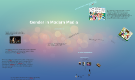 Gender in Modern Media