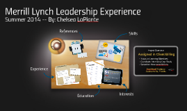 Merrill Lynch Leadership Experience