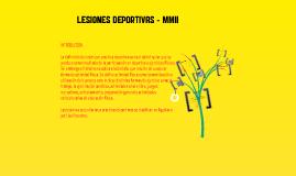 LESIONES DEPORTIVAS  EN MIEMBROS INFERIORES