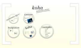 Conception de Koha