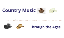 Copy of Country Music Through the Ages