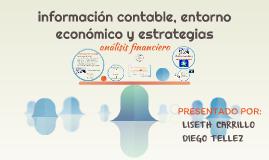 informacion contable, entorno economico y estrategias