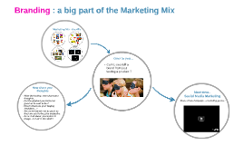 Branding : a big part of the Marketing Mix